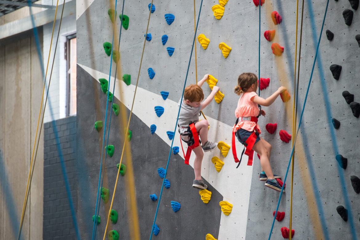 Indoor Rock Climbing For Kids- The Benefits