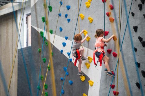 Indoor Rock Climbing For Kids- The Benefits