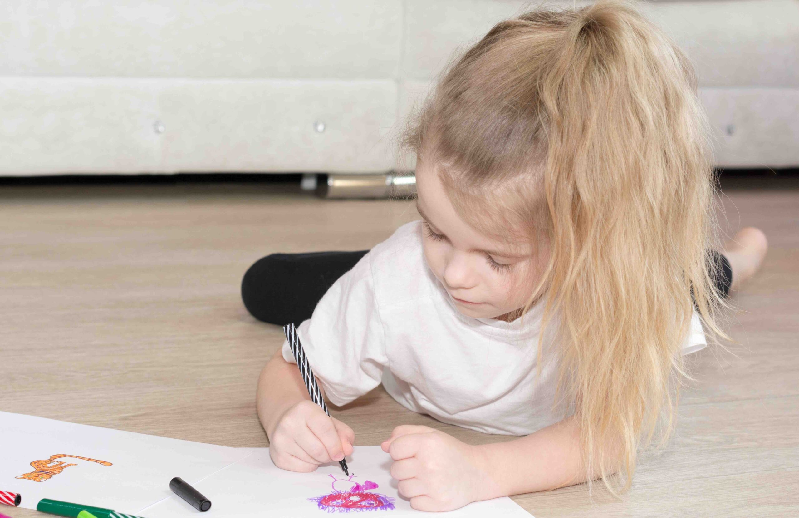 Benefits of drawing for toddlers and kids